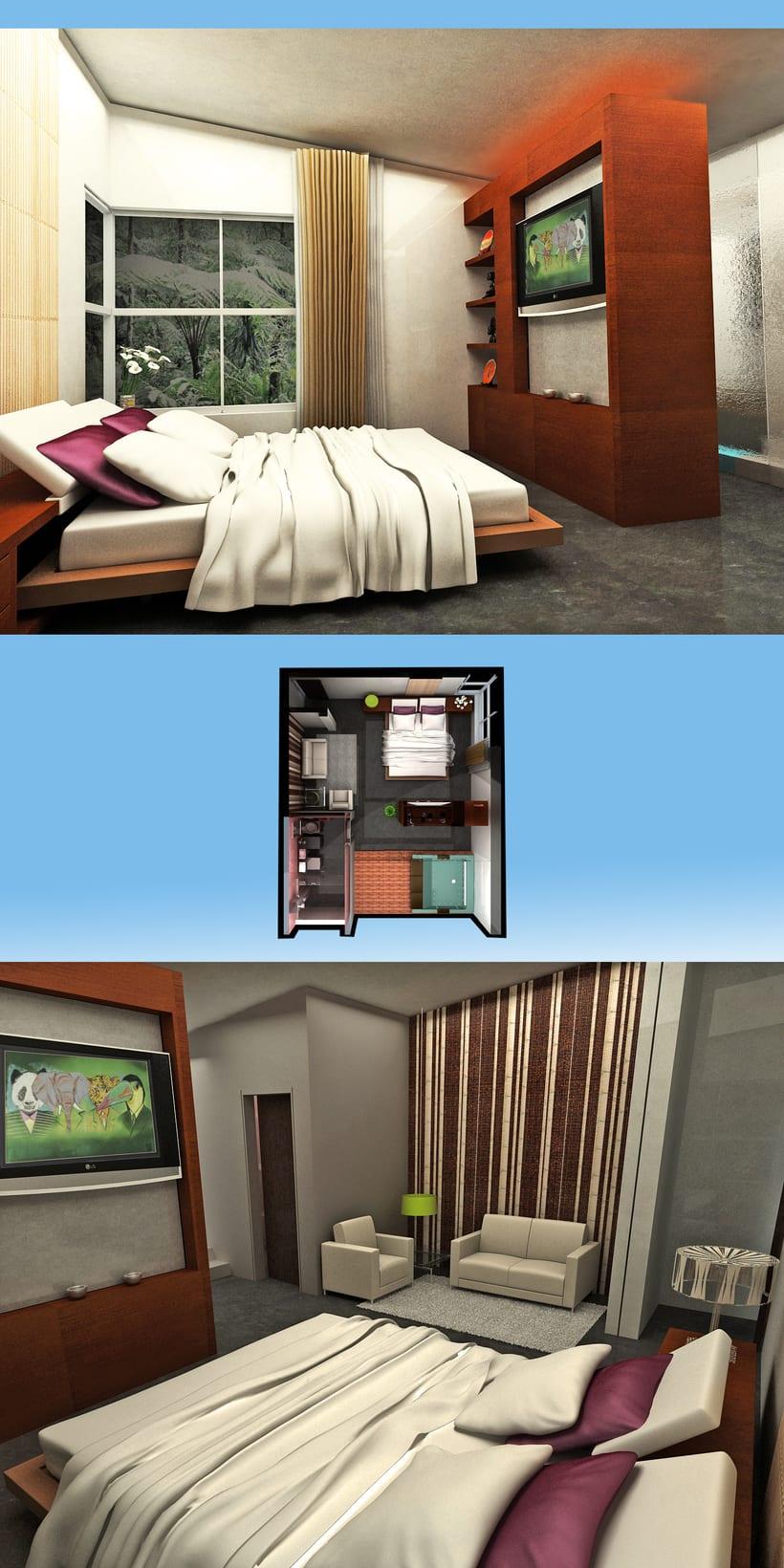 Imágenes para Tesis de diseño de Interiores  3