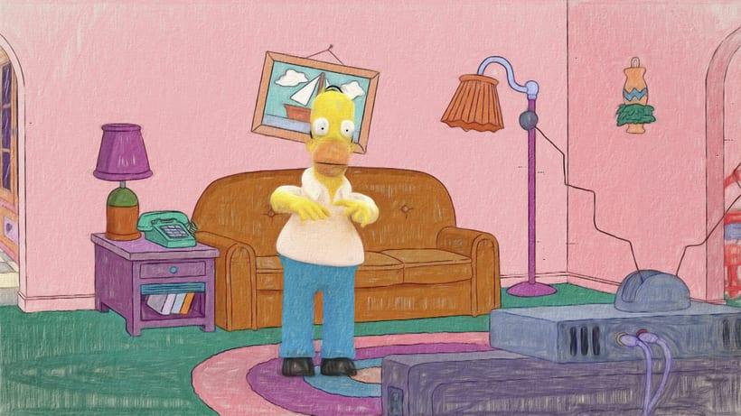 Homer Simpson de Los Simpson  -1
