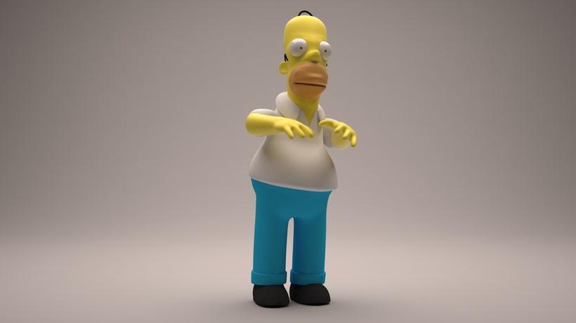 Homer Simpson de Los Simpson  0