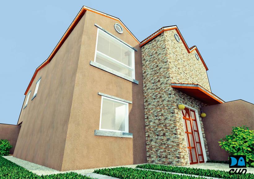 Desarrollo de Imágenes para Venta de Proyectos Inmobiliarios  -1