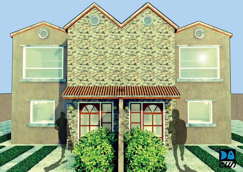 Desarrollo de Imágenes para Venta de Proyectos Inmobiliarios  1