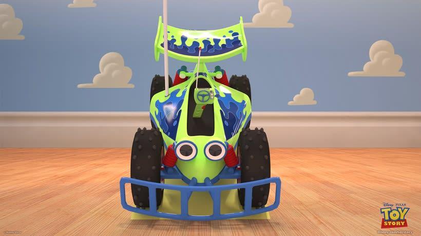 R.C. Car de Toy Story  0