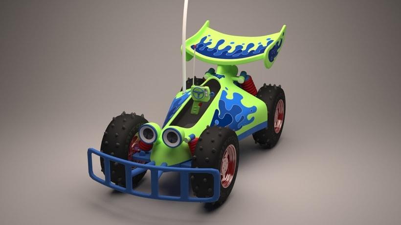 R.C. Car de Toy Story  1