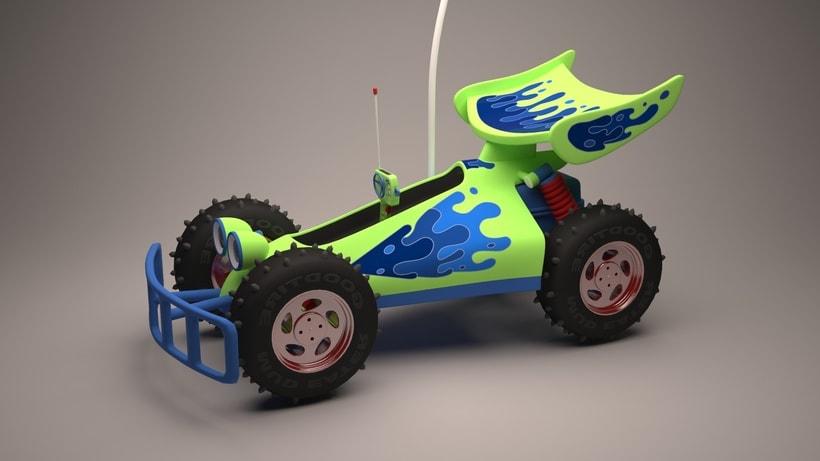 R.C. Car de Toy Story  3