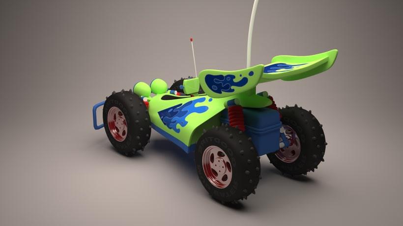 R.C. Car de Toy Story  4