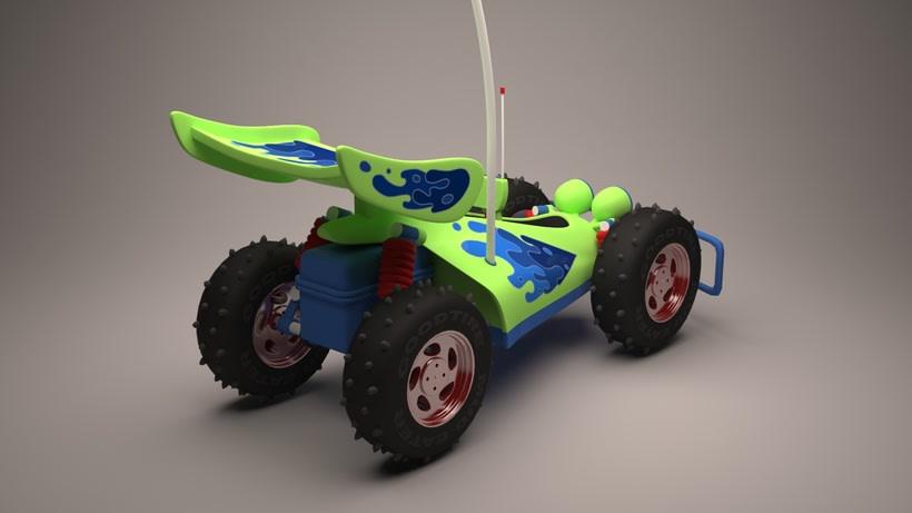 R.C. Car de Toy Story  5