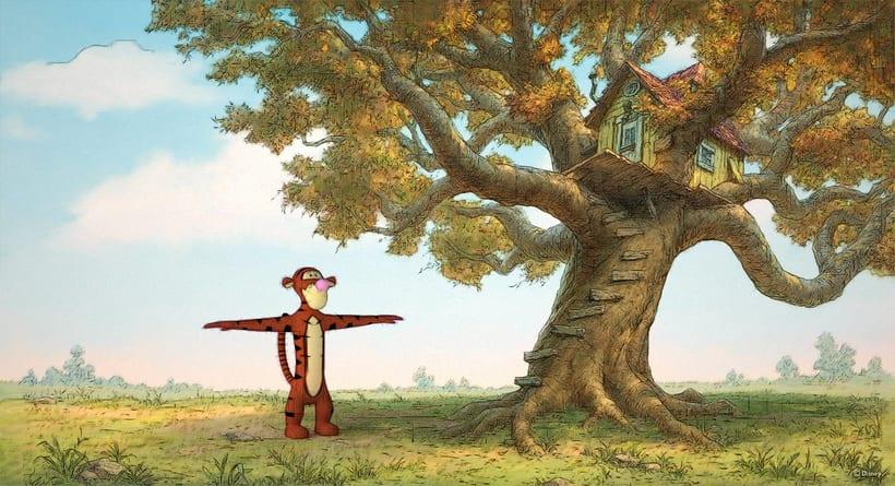 Tigger de Winnie the Pooh 0