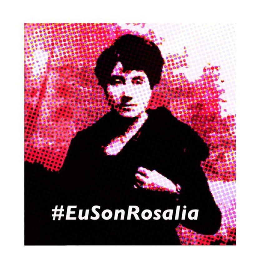 178 e 180 aniversario do nacemento de Rosalia de Castro #EuSonRosalia #Rosalíate 1