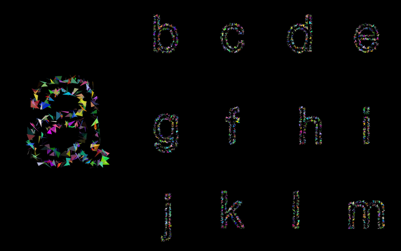 <datawave> Generative Font 8