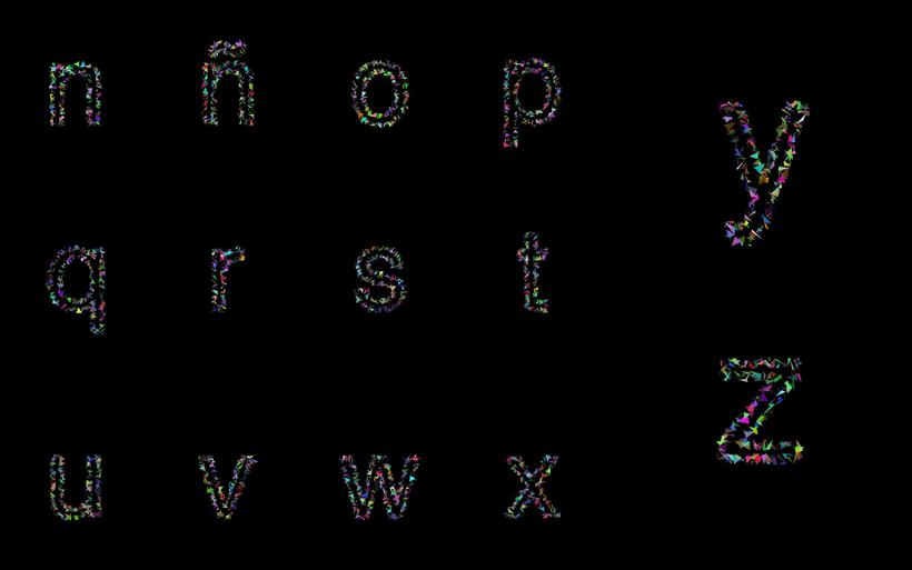 <datawave> Generative Font 9