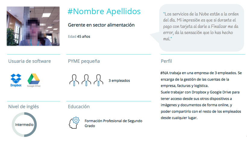 Test de usabilidad, insights y customer journey 5