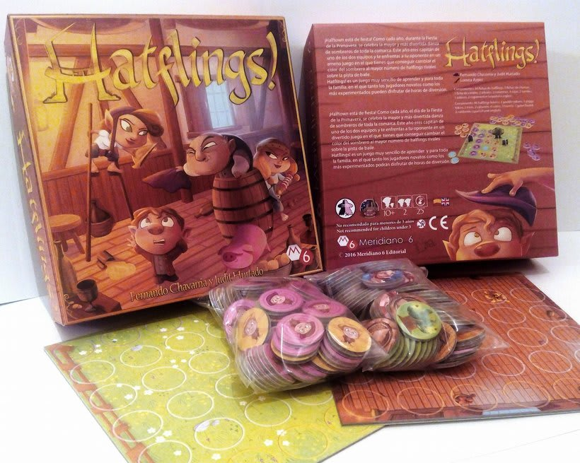 Hatflings (board game) 0
