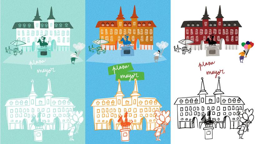 Recicla a la madrileña - Mapa de Madrid 1