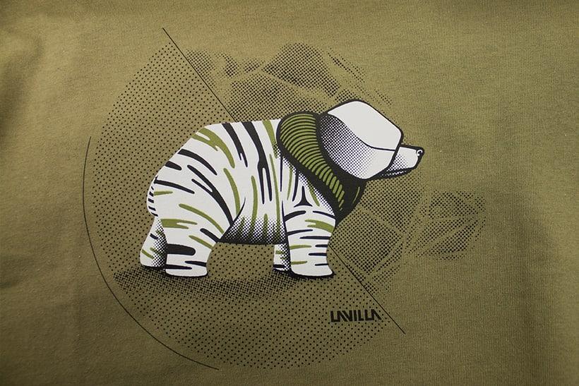 Camisetas animales fantásticos 5