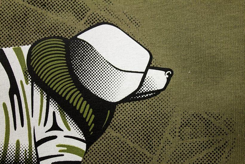 Camisetas animales fantásticos 6