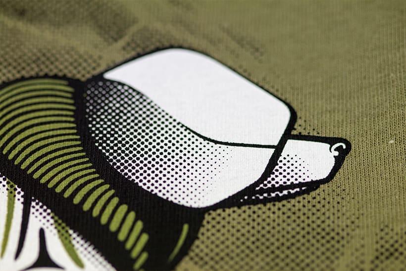 Camisetas animales fantásticos 7