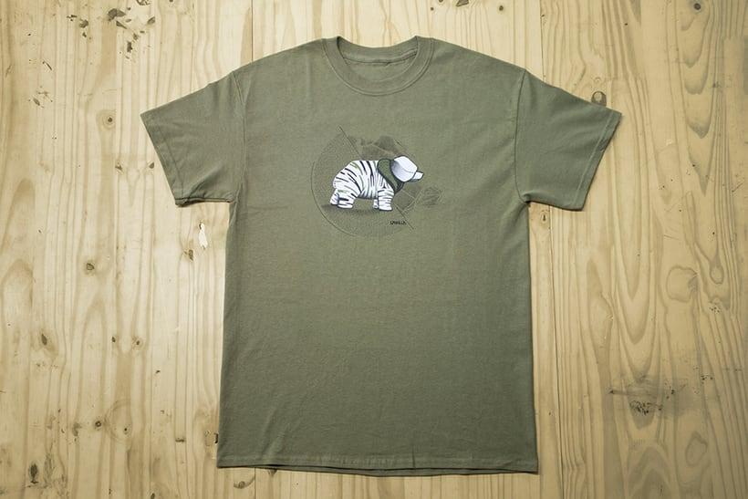 Camisetas animales fantásticos 8