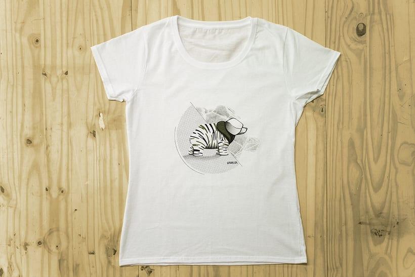 Camisetas animales fantásticos 9
