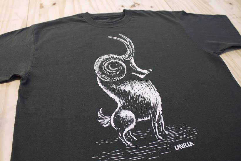 Camisetas animales fantásticos 26