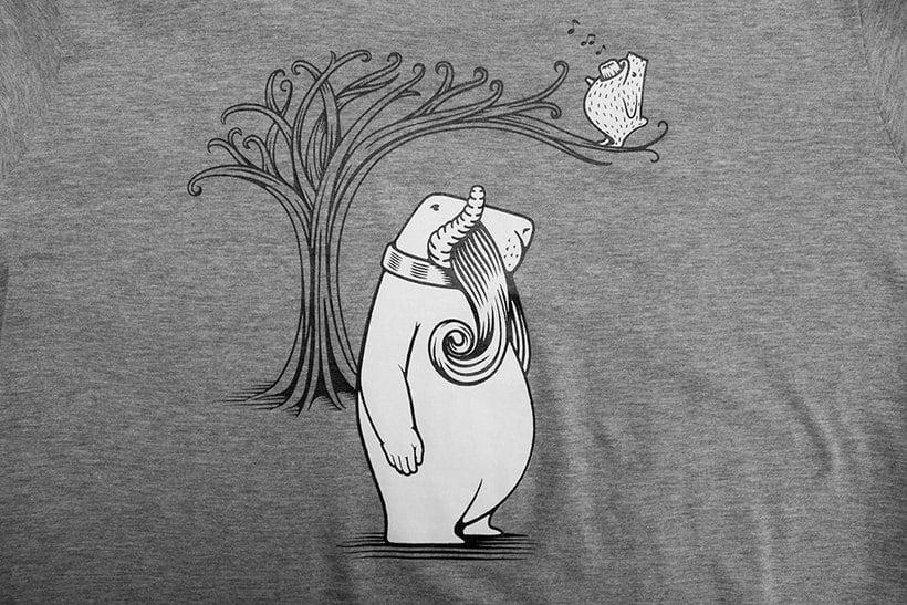 Camisetas animales fantásticos 33