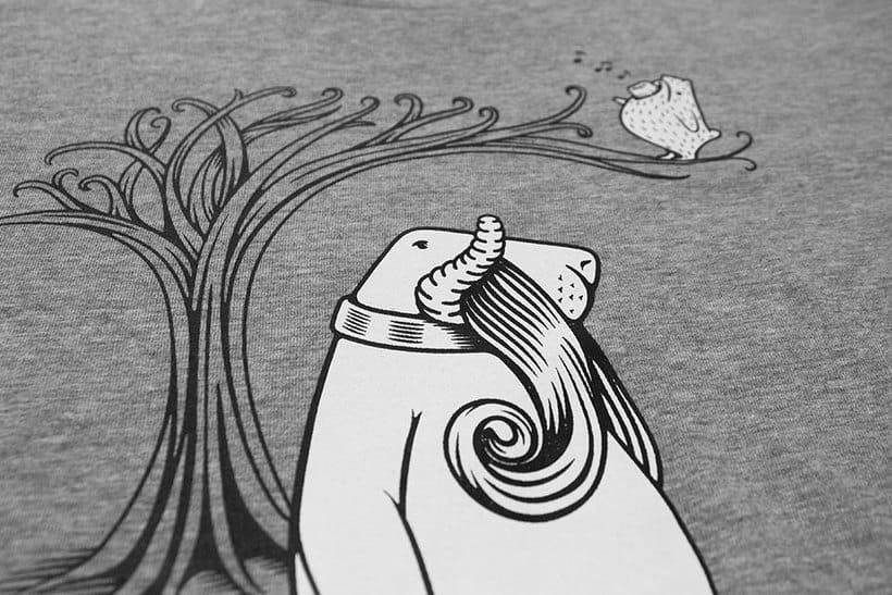 Camisetas animales fantásticos 34