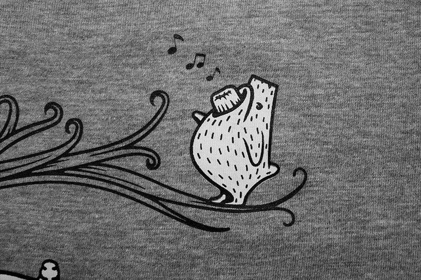 Camisetas animales fantásticos 35