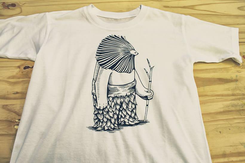 Camisetas animales fantásticos 40