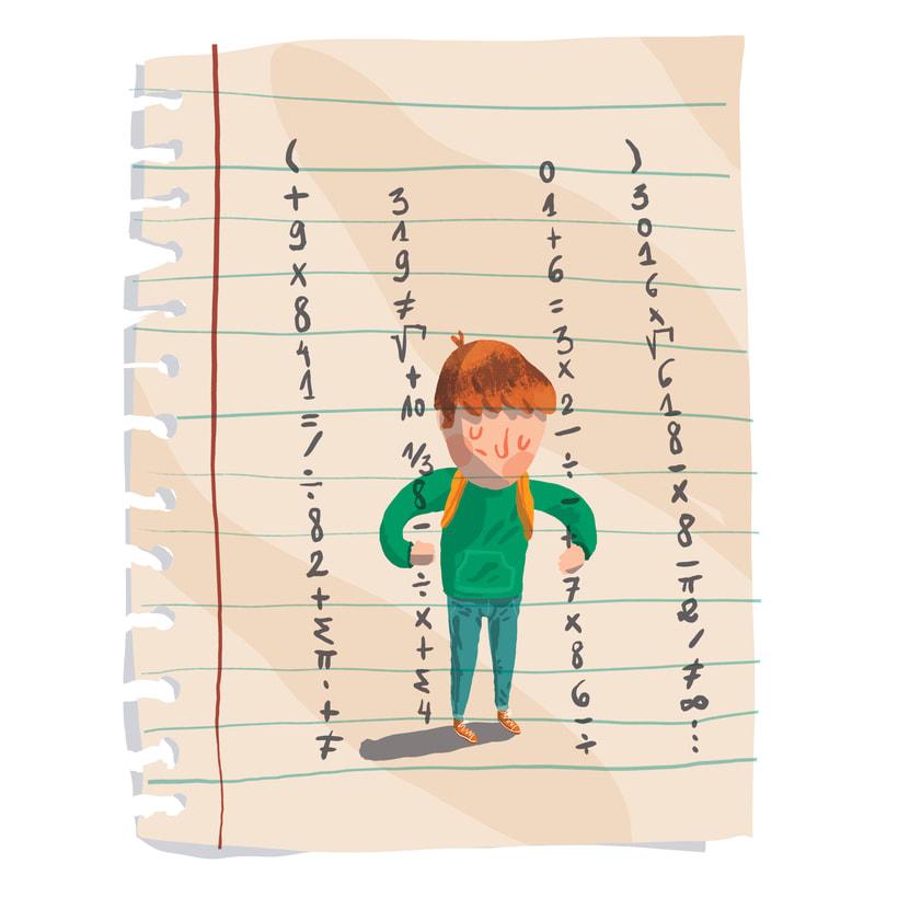 ¡Qué miedo!, libro ilustrado para niños, publicado por Santillana. 5