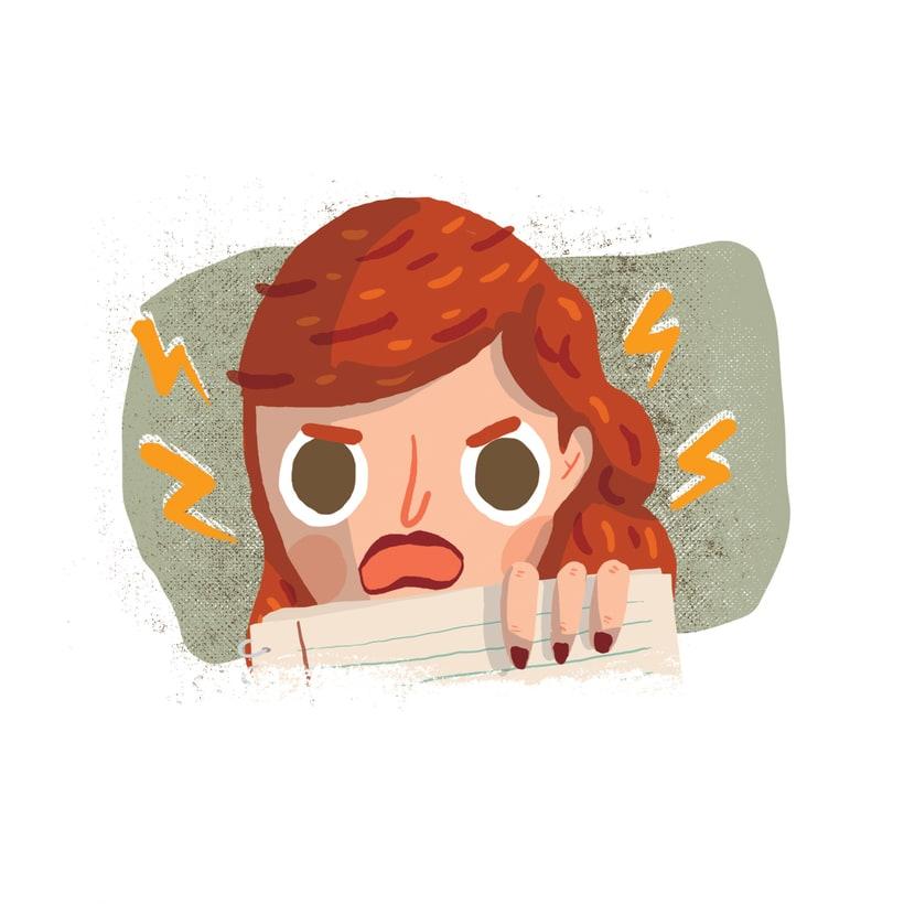 ¡Qué miedo!, libro ilustrado para niños, publicado por Santillana. 6