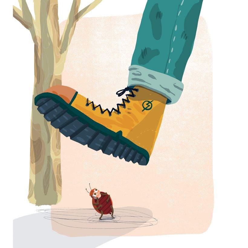 ¡Qué miedo!, libro ilustrado para niños, publicado por Santillana. 7
