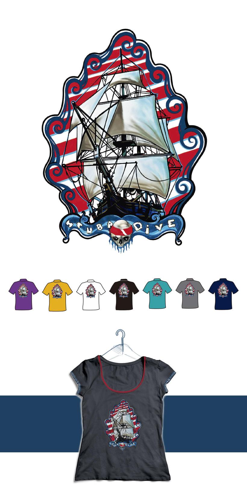 Diving Shirts 0