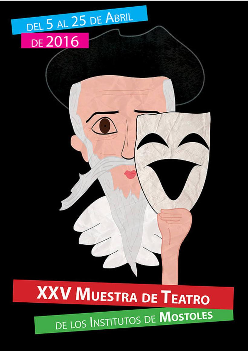 Cartel ganador para el teatro de Móstoles -1