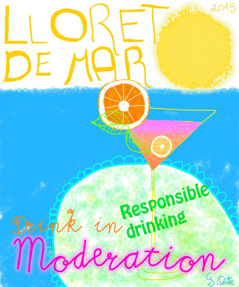 Nuevo Propuesta para ayuntamiento de Lloret de Mar.Drink in moderation. -1