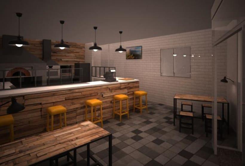 Pizzería Horno y Leña 1