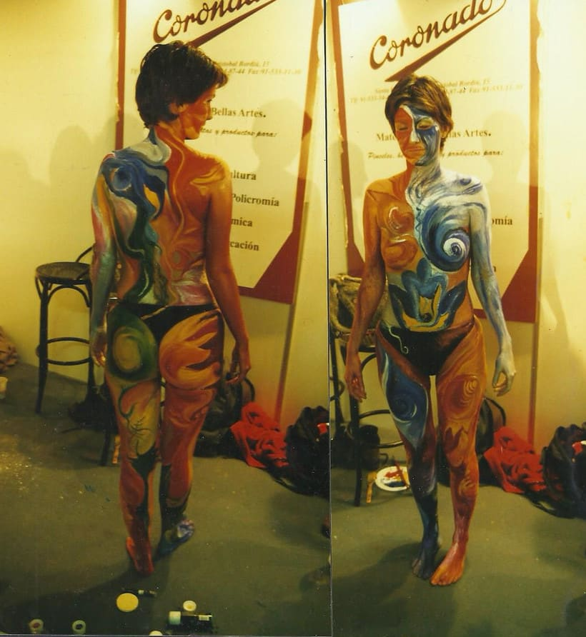 BODY PAINTING 8