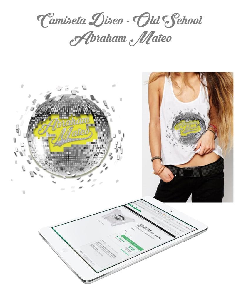 Merchandising para Abraham Mateo 1