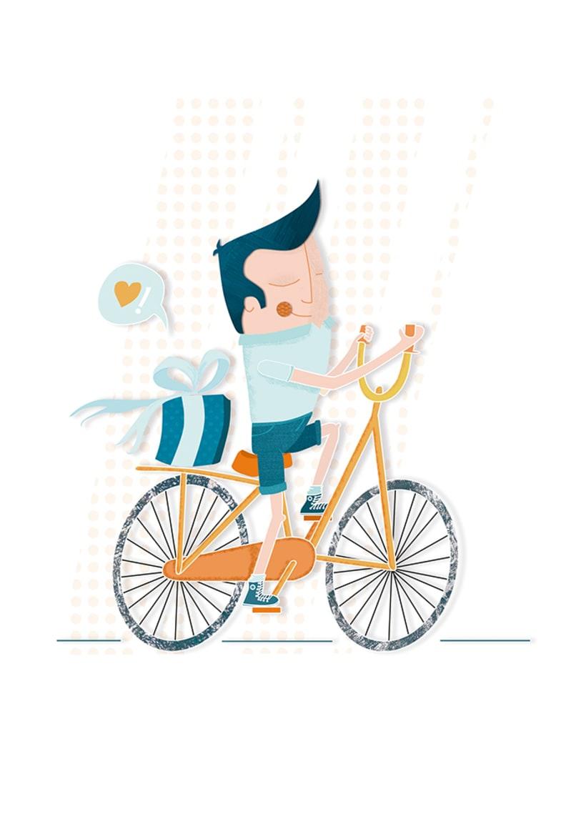 Amor sobre ruedas - ilustración 0
