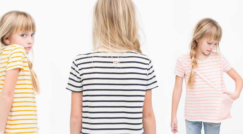 Girls Stripes Summer 15 0