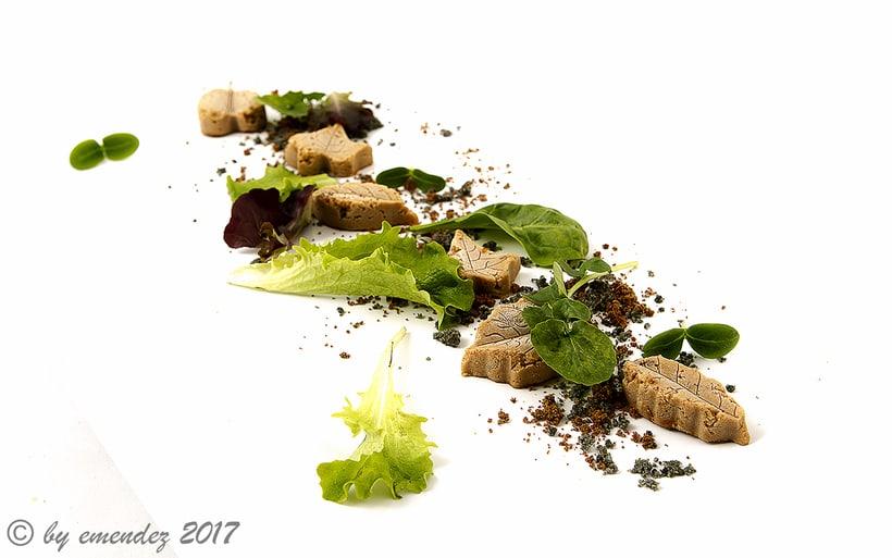 Mi Proyecto del curso: Fotografía gastronómica y retoque con Photoshop Calendario 2017 para patés VALDY 7