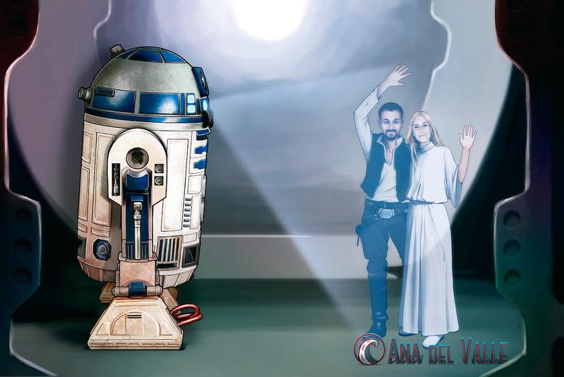 Boda Star Wars 1