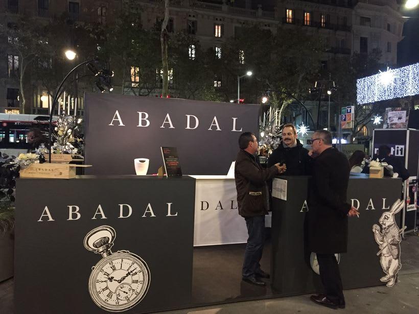 creación stand shopping nigth barcelona 2016 , para Abadal  0