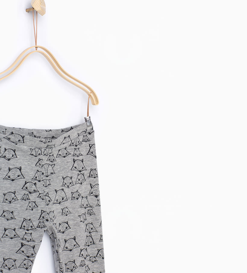 Girls Print Legging 6