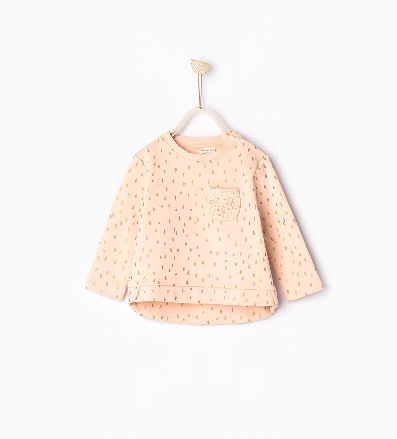 Babygirls Cute Hoodie (pockets) -1