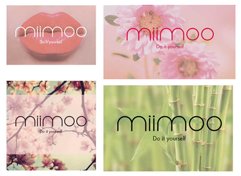 Diseño de identidad visual - miimoo - pintalabios 2