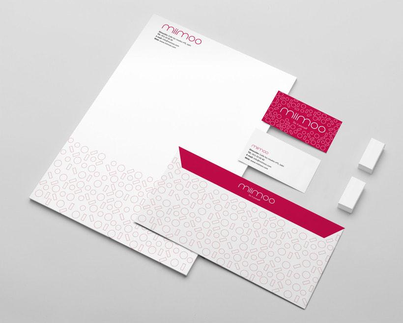 Diseño de identidad visual - miimoo - pintalabios 3