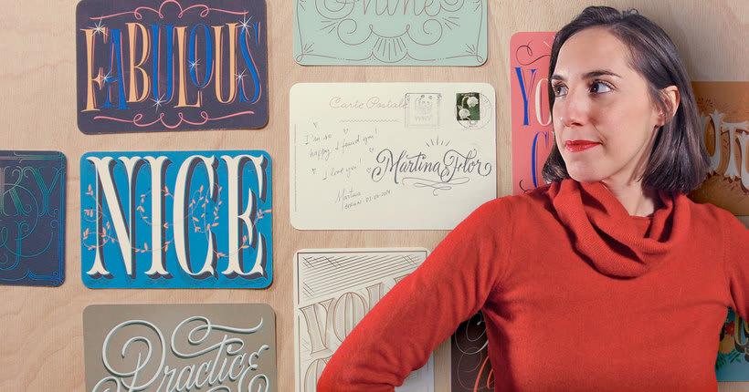 Martina Flor desvela los secretos dorados del lettering 1