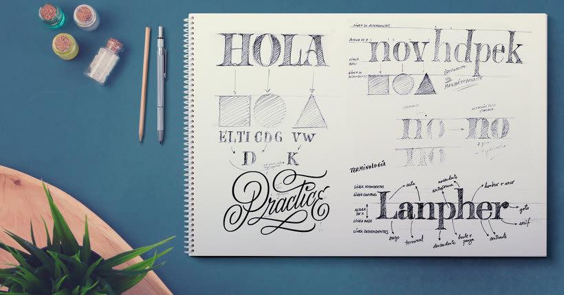 Martina Flor desvela los secretos dorados del lettering 4