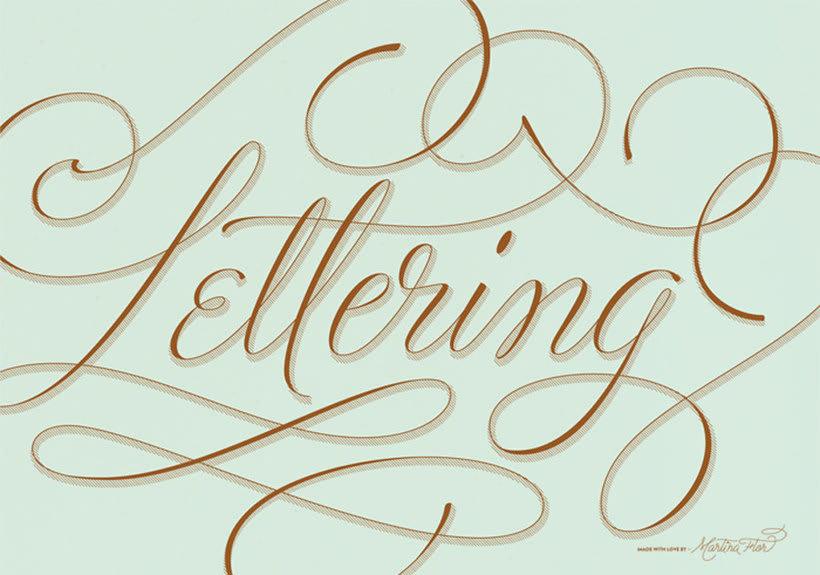 Martina Flor desvela los secretos dorados del lettering 6
