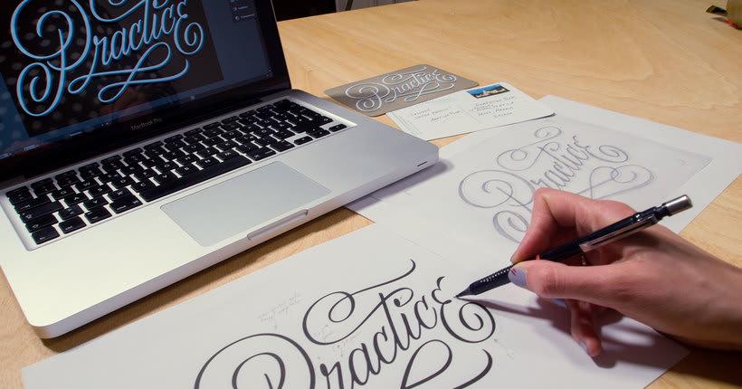 Martina Flor desvela los secretos dorados del lettering 7