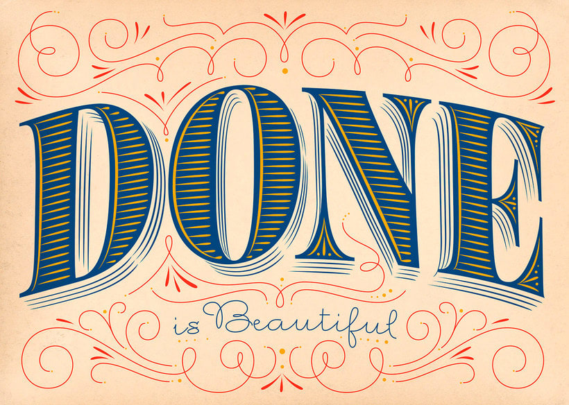 Martina Flor desvela los secretos dorados del lettering 11